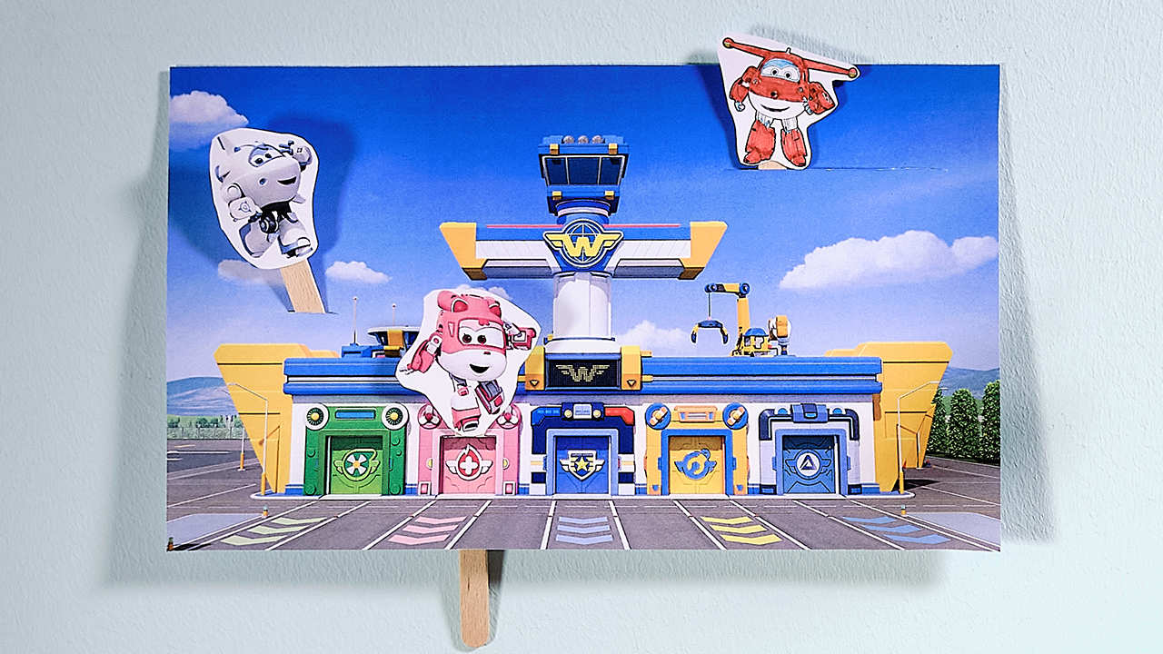 Super Wings Puppentheater